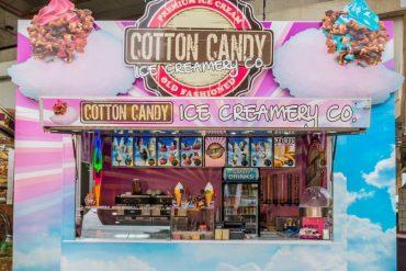 Cotton Candy Ice Creams