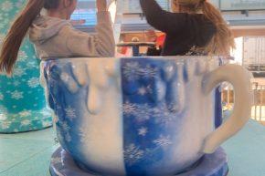 Frozen tea cup ride